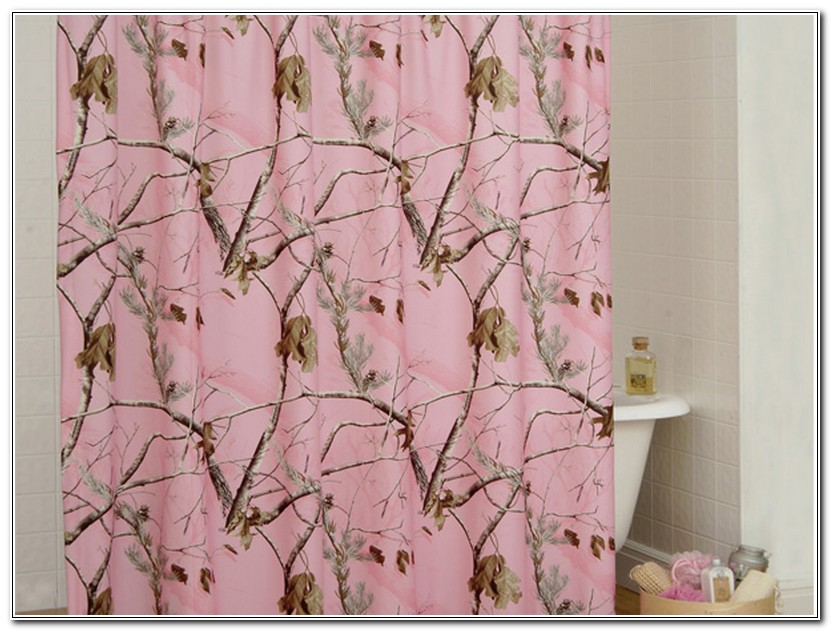 Pink Camo Bathroom Accessories