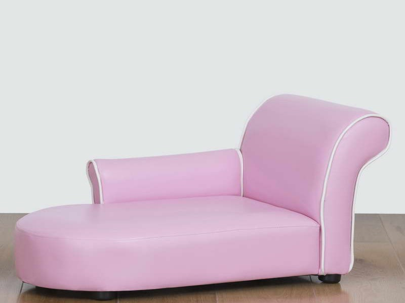 Pink Chaise Lounge Sofa