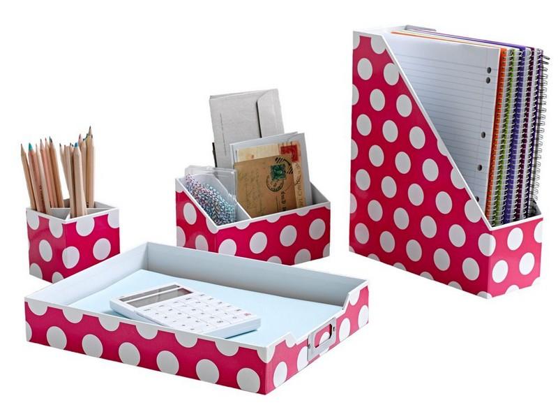 Pink Desk Accessory Sets