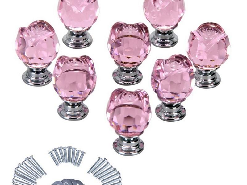Pink Dresser Knobs