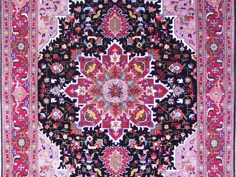 Pink Persian Rug