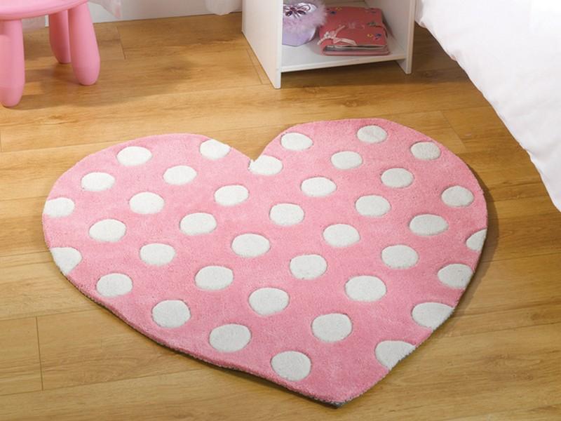 Pink Polka Dot Rugs