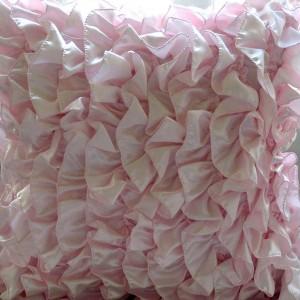 Pink Ruffle Pillow Shams