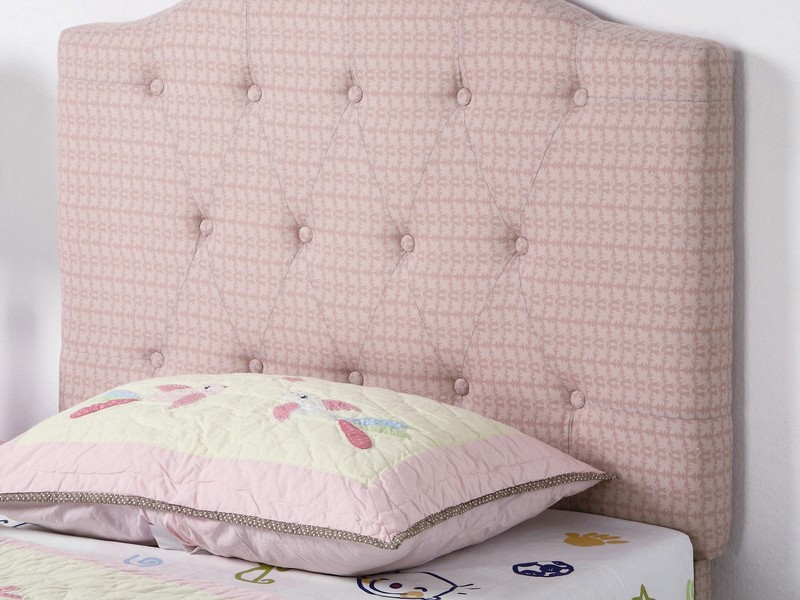 Pink Upholstered Headboard Queen