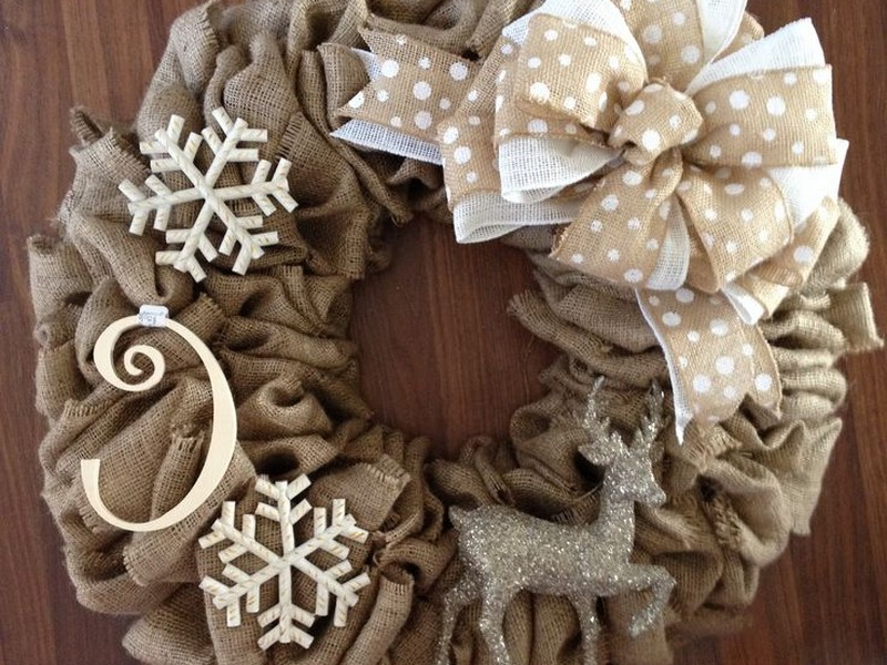 Pinterest Winter Wreath Ideas