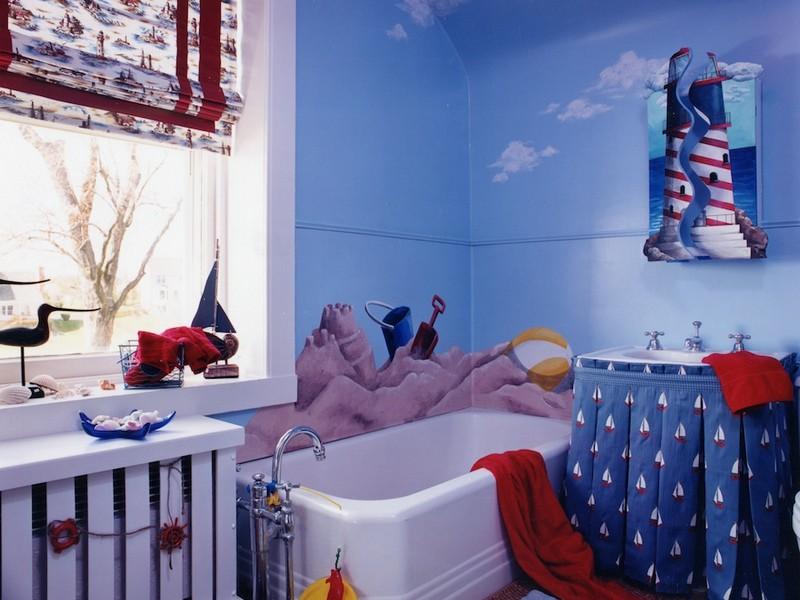 Pirate Themed Bathroom Decor