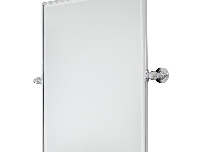 Pivot Bathroom Mirror Bronze