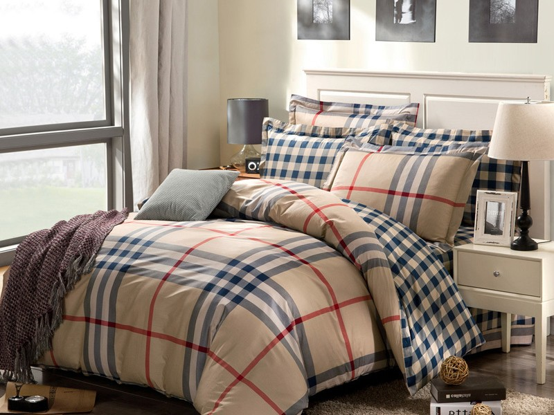 Plaid Bed Sheets