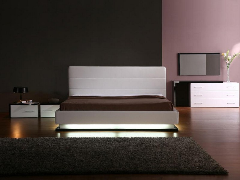 Platform Bed With Lights Underneath