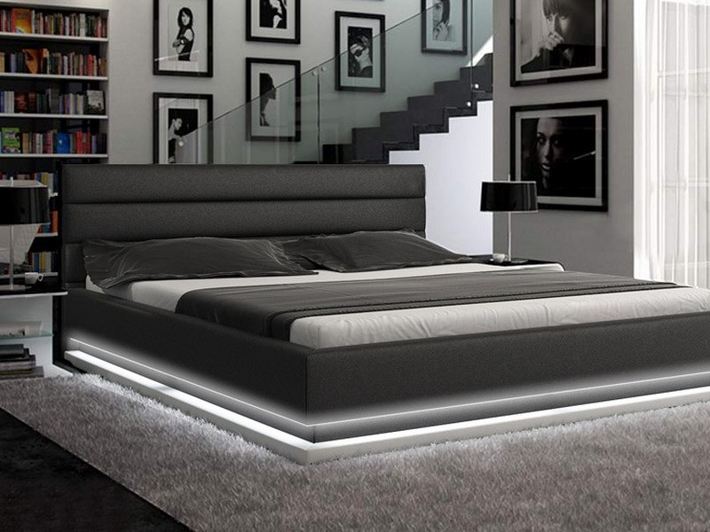 Platform Bed With Lights