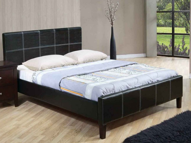 Platform Bed With Mattress Only