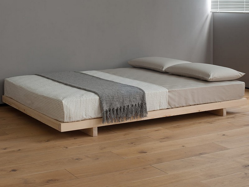 Platform Bed Without Headboard