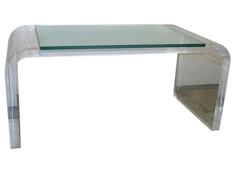 Plexiglass Coffee Table