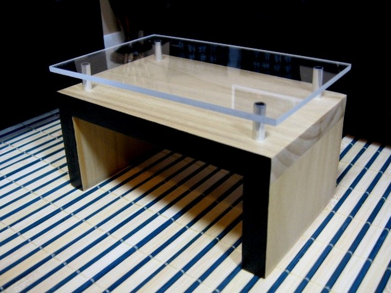 Plexiglass Table Topper