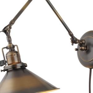 Plug In Swing Arm Wall Lamp