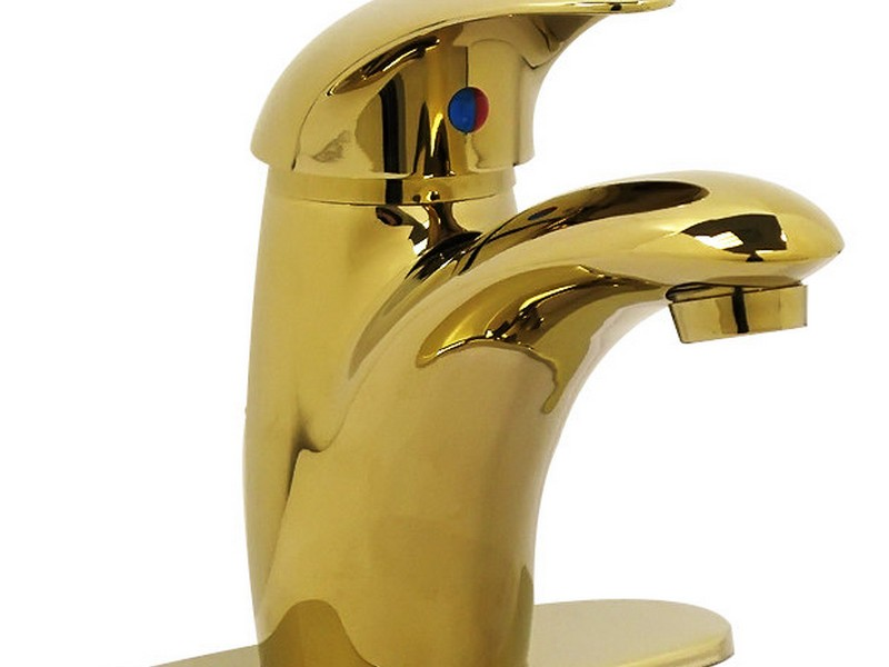 Polished Brass Bathroom Faucets Contemporary