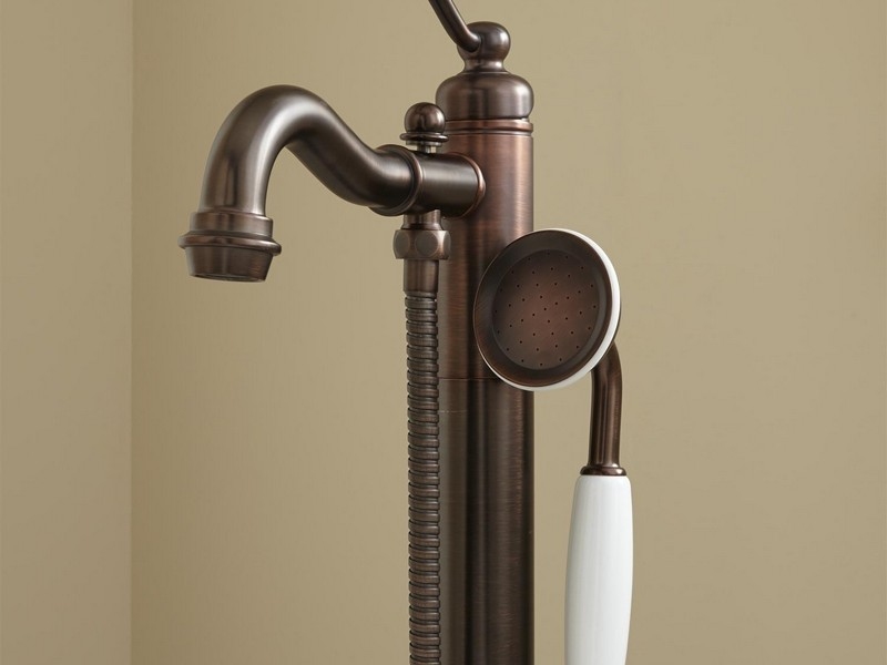Polished Bronze Bathroom Faucets