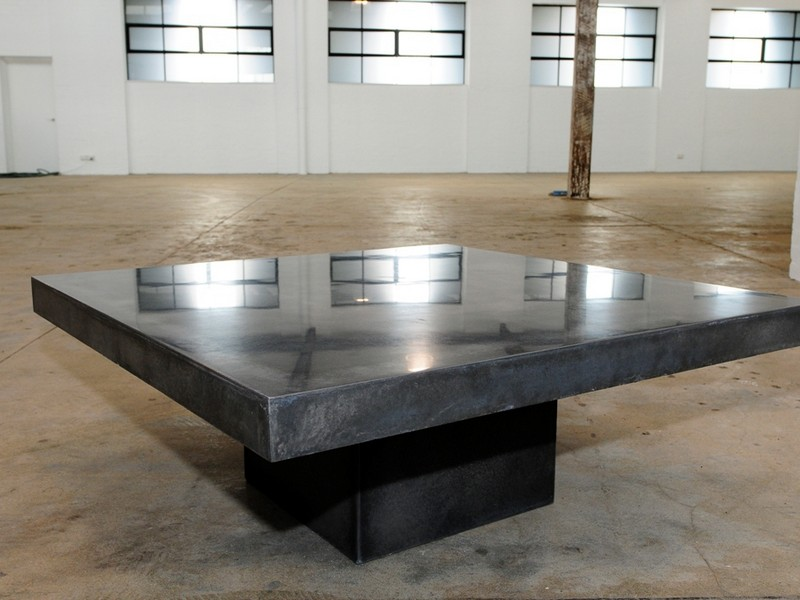 Polished Concrete Table Tops