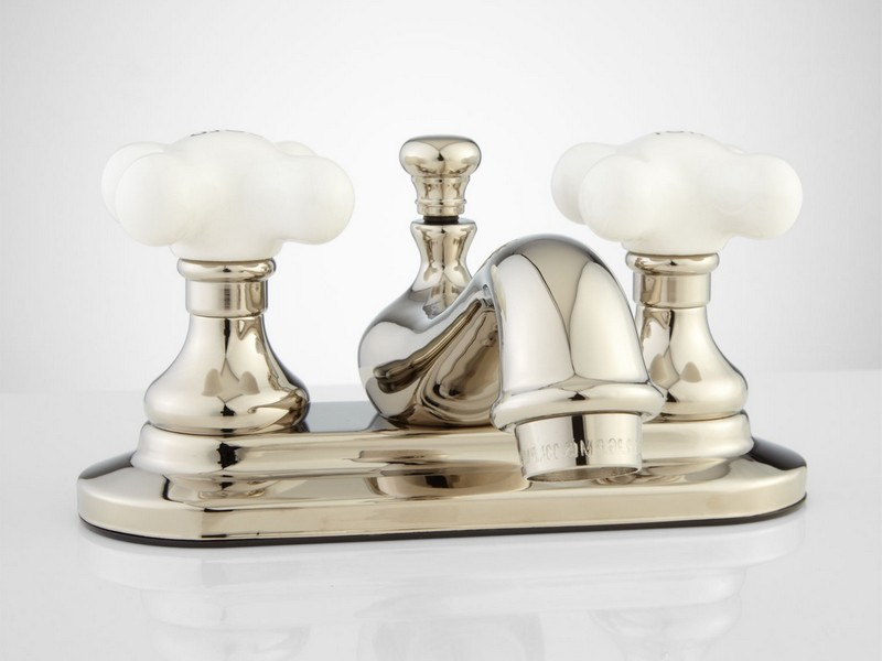 Polished Nickel Bathroom Faucets
