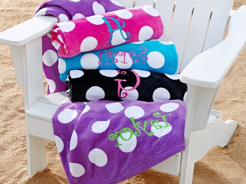 Polka Dot Beach Towels