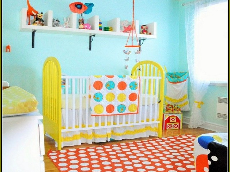 Polka Dot Rugs For Nursery