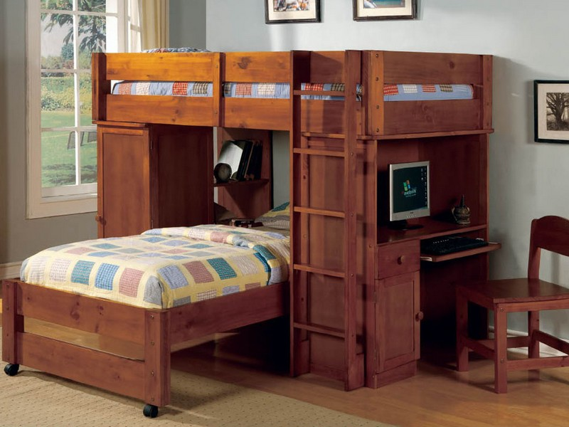 Ponderosa Staircase Bunk Bed