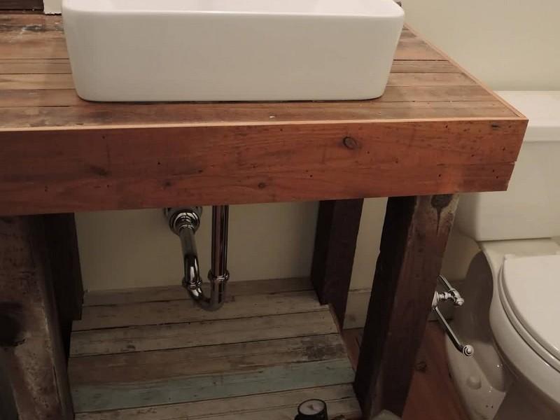 Porcelain Console Bathroom Sink