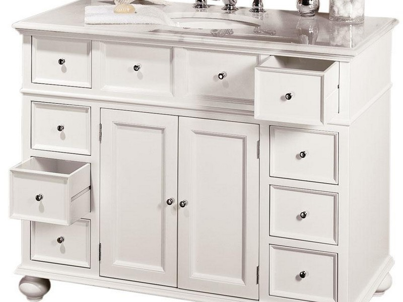 Pottery Barn Bathroom Vanity Look Alikes