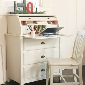 Pottery Barn Computer Desk Armoire