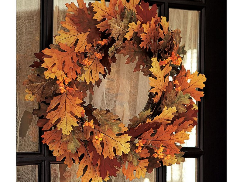 Pottery Barn Fall Wreaths