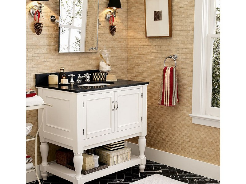 Pottery Barn Inspired Bathrooms