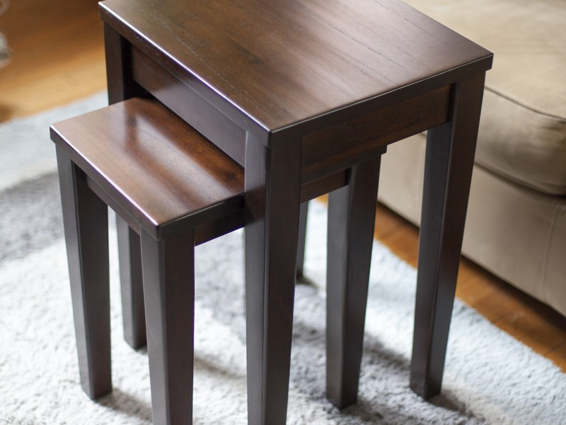 Pottery Barn Nesting Tables Wood Home Design Ideas