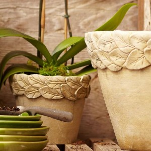 Pottery Barn Planters
