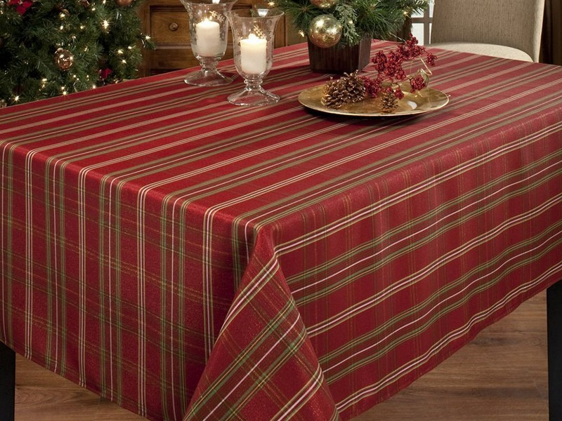 Pottery Barn Tablecloths Oval