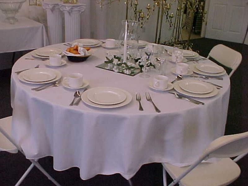 Pottery Barn Tablecloths Round
