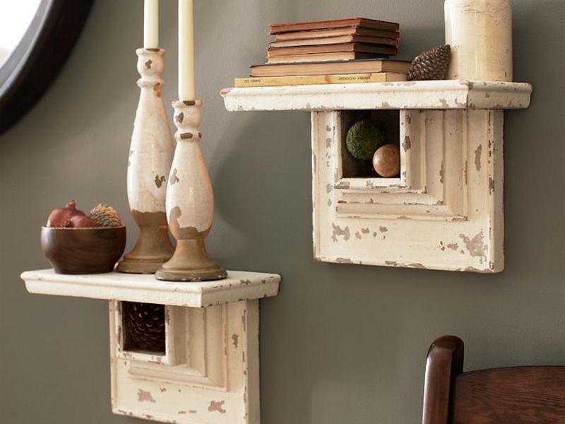 Pottery Barn Wall Shelves