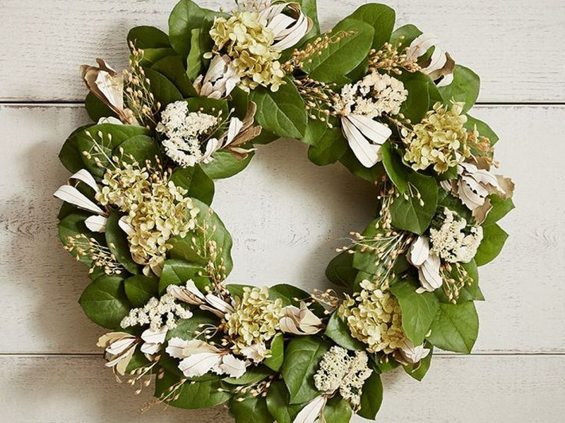 Pottery Barn Wreaths Spring