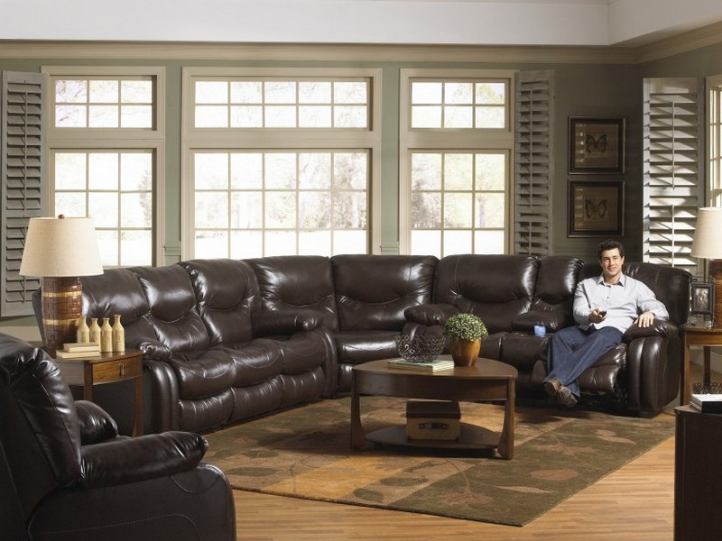 Power Leather Recliner Chair