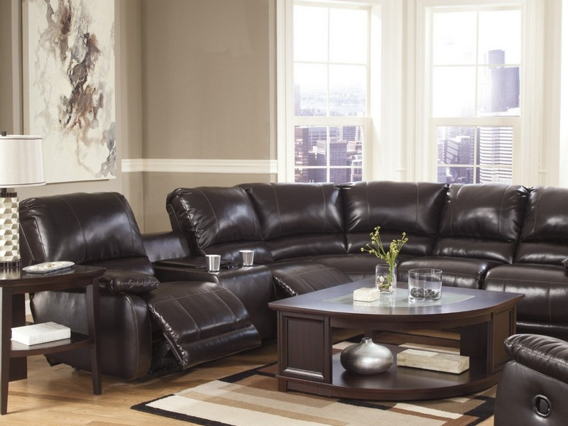 Power Reclining Loveseat Leather