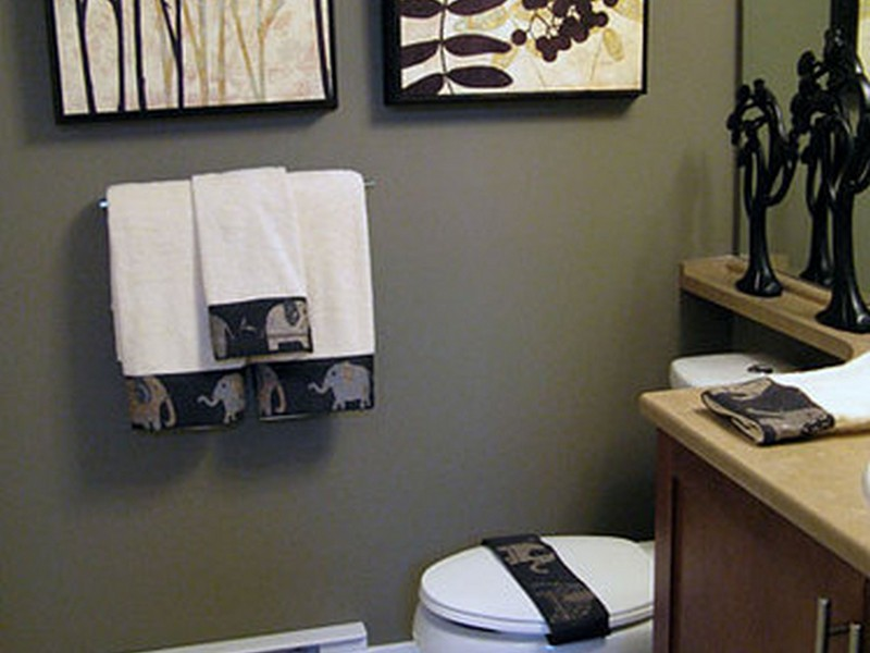 Primitive Bathroom Decor Sets