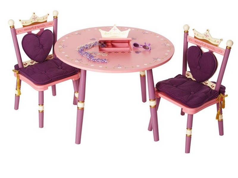 Princess Vanity Table And Chair Set