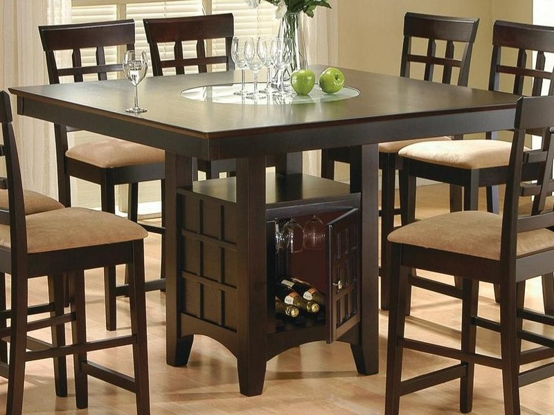 Pub Style Kitchen Table 6 Chairs
