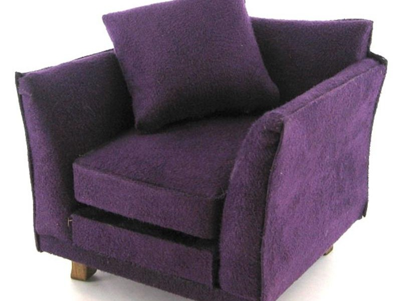 Purple Armchair Uk