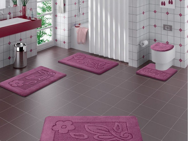 Purple Bathroom Rugs And Towels