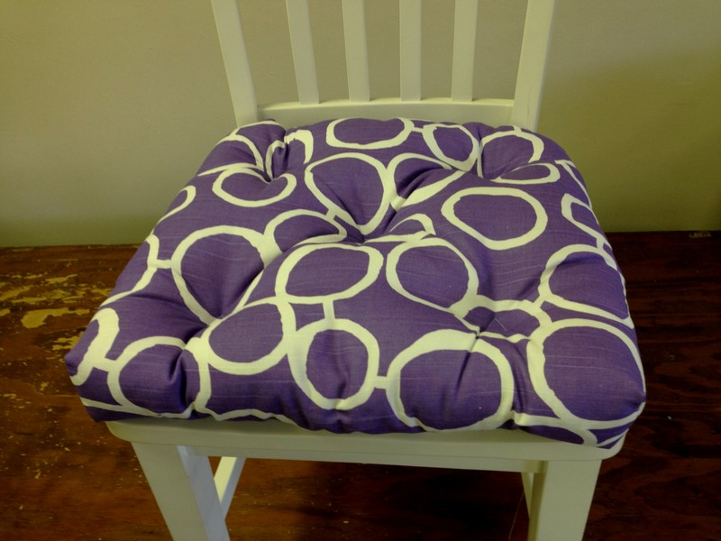 Purple Chair Cushions And Pads