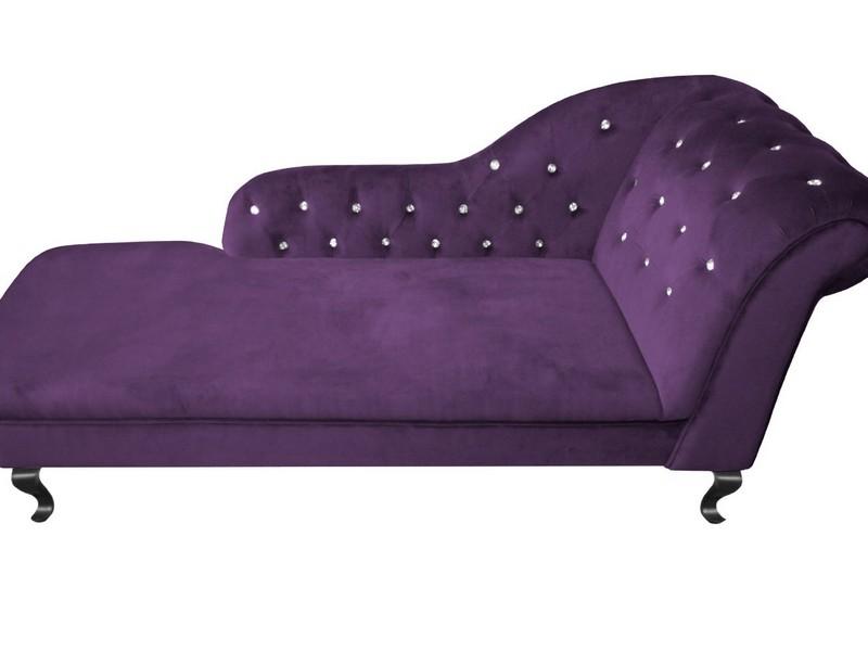 Purple Chaise Lounge Canada