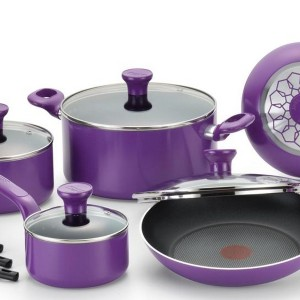 Purple Cookware Set