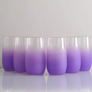 Purple Drinking Glasses