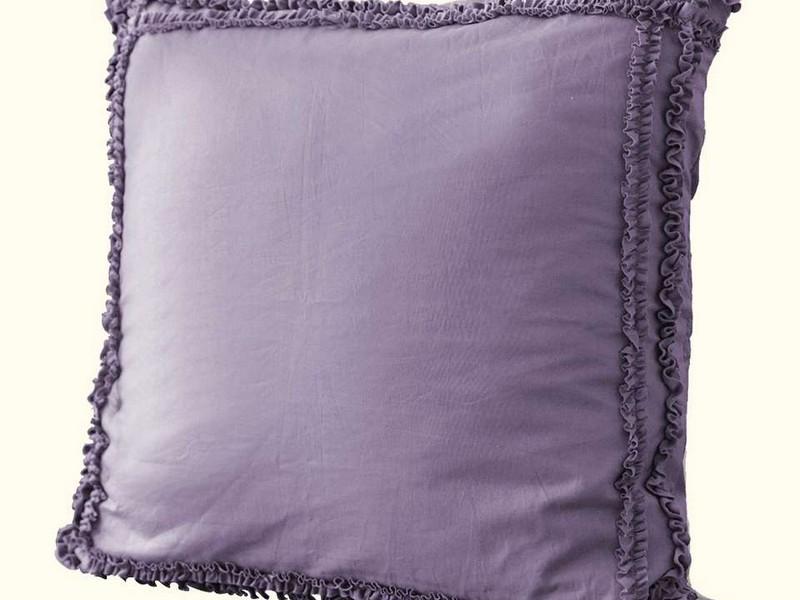 Purple Euro Sham