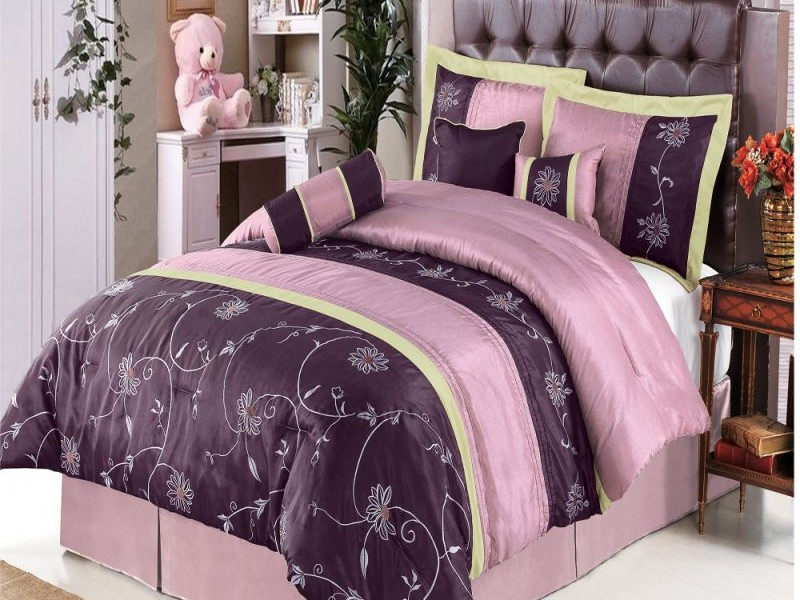 Purple Queen Size Bedding Sets